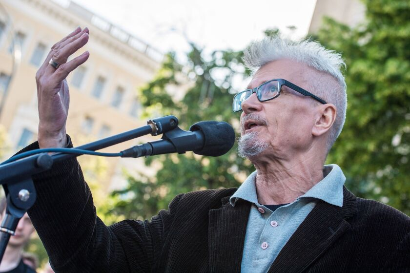 Russian writer and opposition leader Eduard Limonov