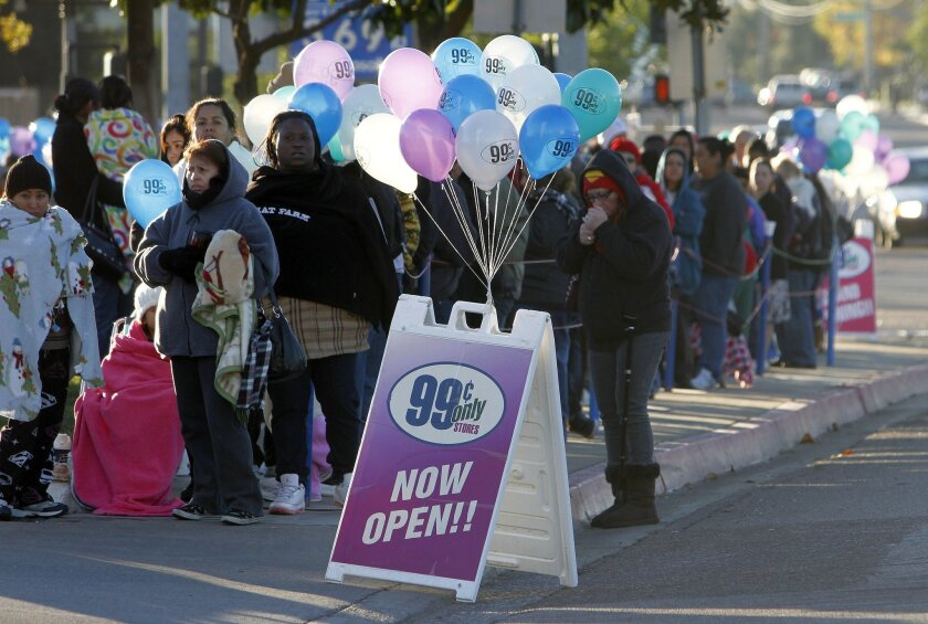 Hundreds awaited the 2012 opening of a 99 Cents Only Store in Escondido, but city officials have blocked the retailer from a separate location on Escondido Avenue.