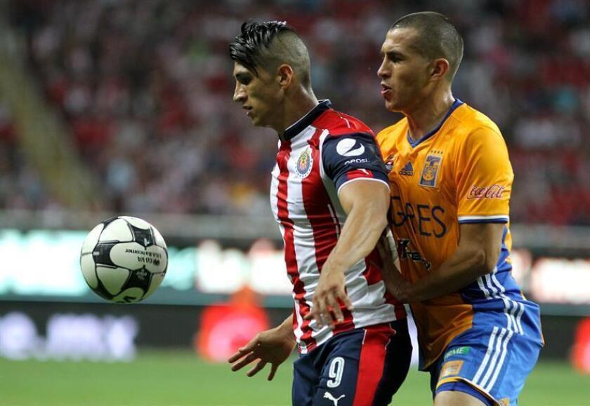 El defensa Jorge Torres Nilo, de los Tigres de la UANL, aseguró hoy que su equipo se entrena duro, tendrá un partido de preparación y eso le permitirá llegar en buena forma a la final del torneo Apertura 2016 contra América que se jugará dentro de dos semanas. EFE/ARCHIVO