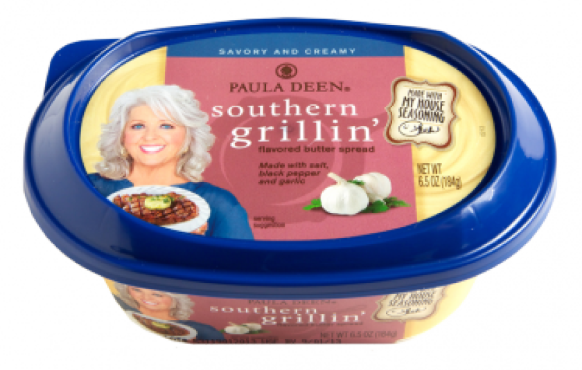 Paula Deen has launched five new finishing butters, including one for grilling.