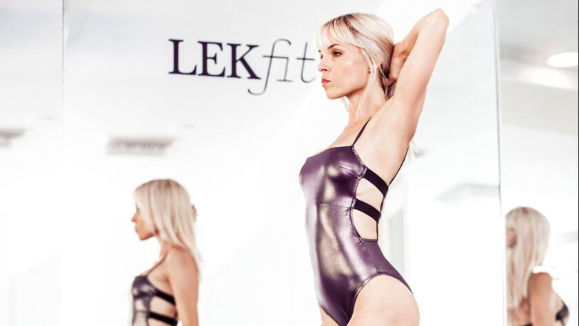 Exercise studio Lekfit will lead a workout at The Grove.
