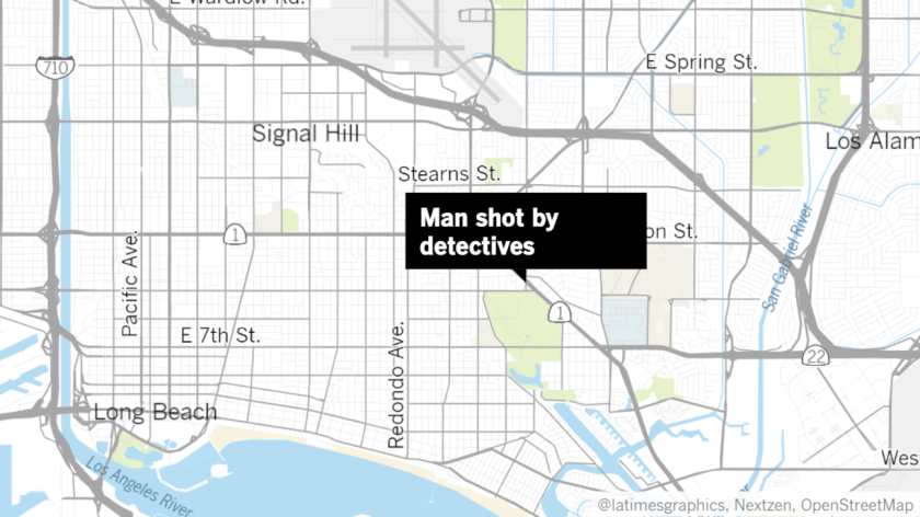 Police kill armed man after attempted robbery in Long Beach
