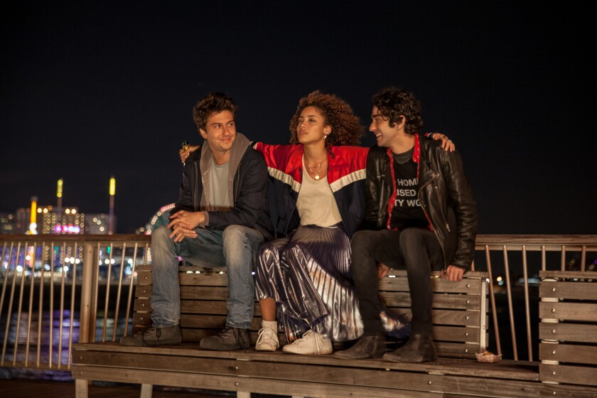 Alex Wolff (right) in Stella's Last Weekend.