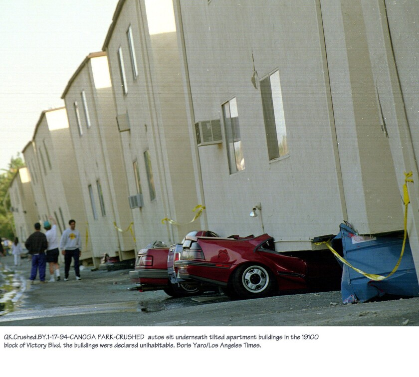 Damage from the 1994 Northridge earthquake