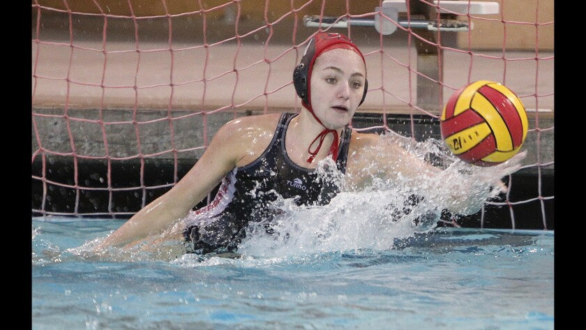 Photo Gallery: Burroughs girls' water polo wins first round CIF Division VI match against Nipomo