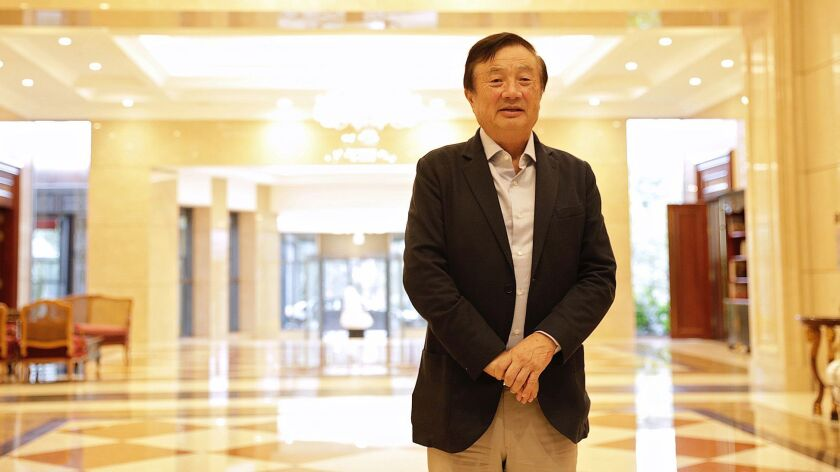 Huawei's Founder Breaks Years of Silence to Protest U.S. Attacks