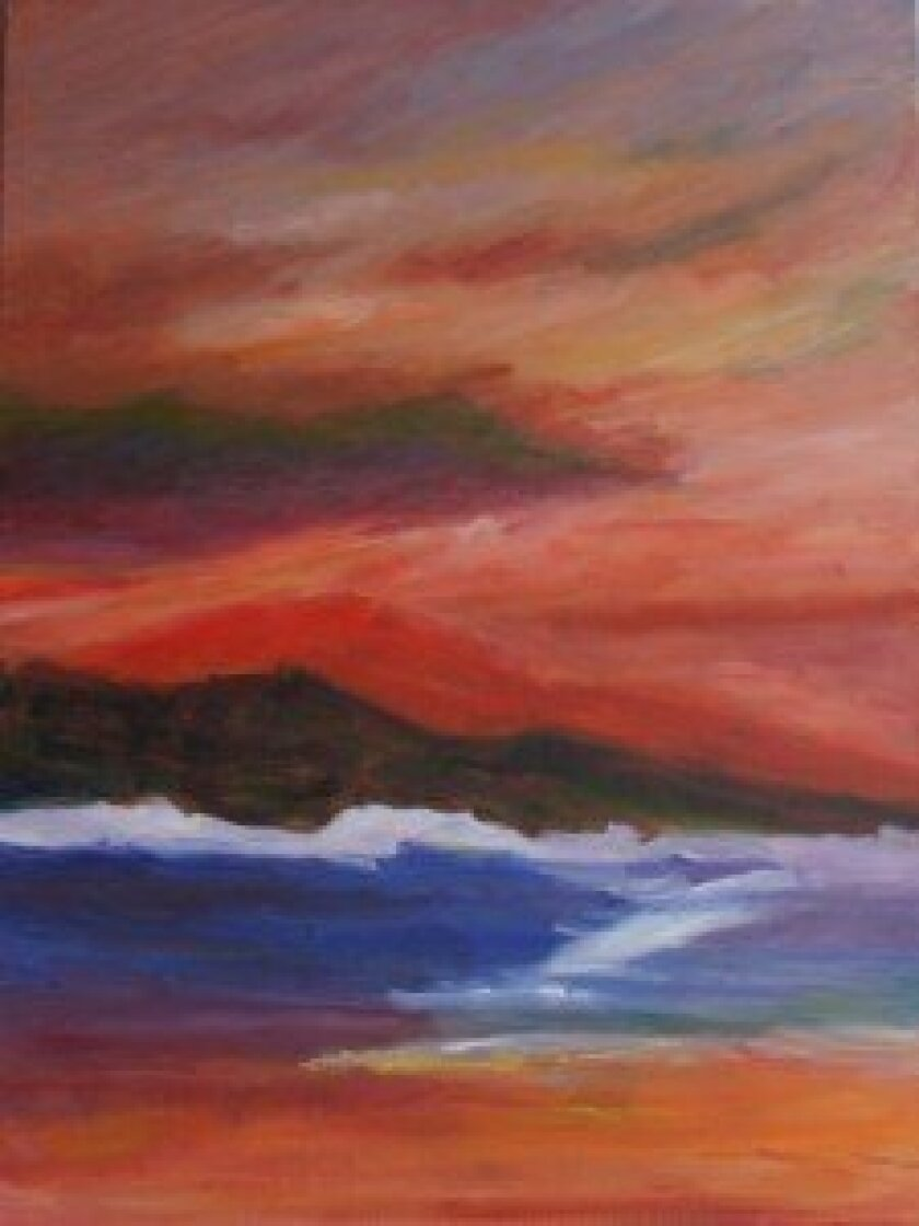 Red Aire by Connie McCoy