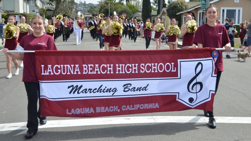 Visitors to Laguna Beach High School and other public campuses in the school district will have to go through new security procedures beginning in April.