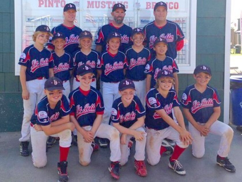 Mustang-9 team with (back row) Coach Chris Hobbs, Manager Dave Klimkiewicz and Coach Brad Kates. Courtesy Photo