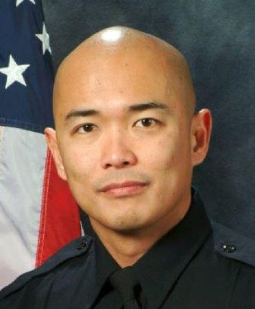 San Diego police Officer Jonathan De Guzman