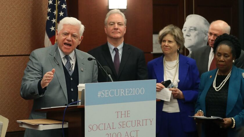 Democratic Lawmakers Introduce The Social Security 2100 Act