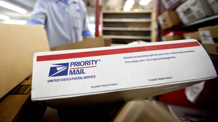 The country is in the midst of a postal crisis.