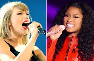 Nicki Minaj, Taylor Swift clash on Twitter over VMA nominations; things get awkward