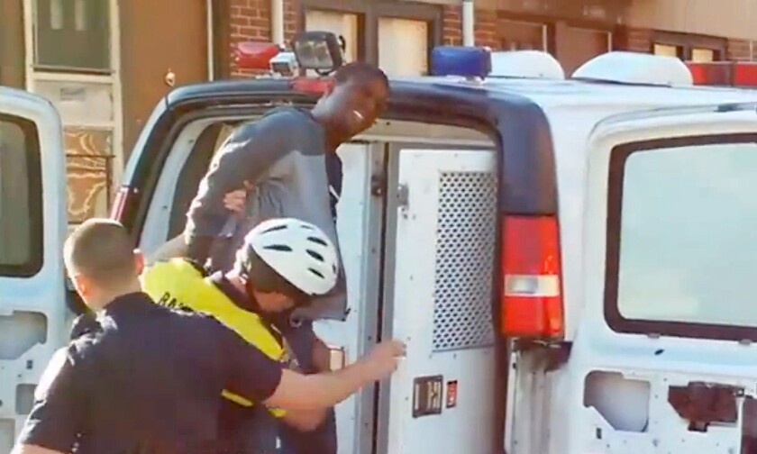 The 44-minute mystery of Freddie Gray's death