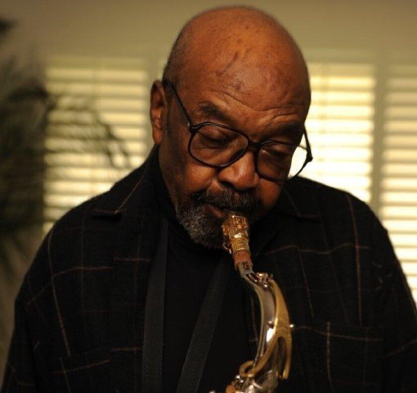 Jazz sax legend James Moody.