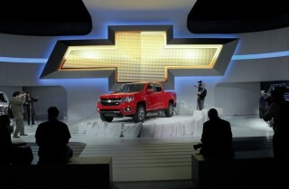 2013 LA Auto Show: Chevrolet Colorado