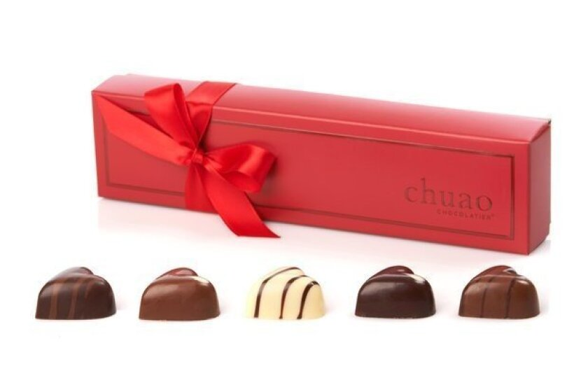 Chuao Chocolatier offers gift boxes and collections of featured and 'chef's favorites' chocolates.