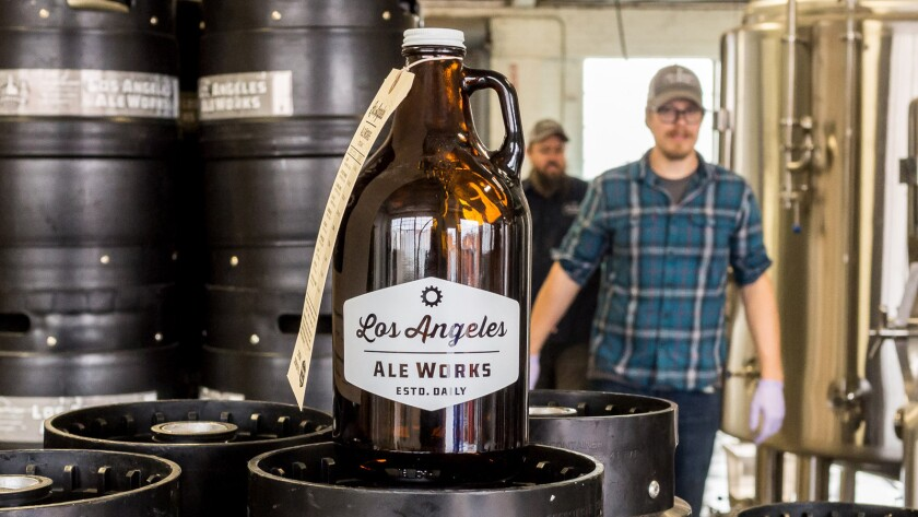 Los Angeles Ale Works gets ready to open in Hawthorne.
