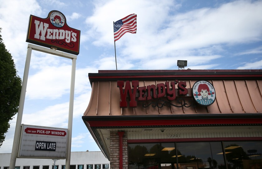 Wendy's customer Jimmy Shue claims he felt fat-shamed at Gastonia, N.C., Wendy's (not pictured).