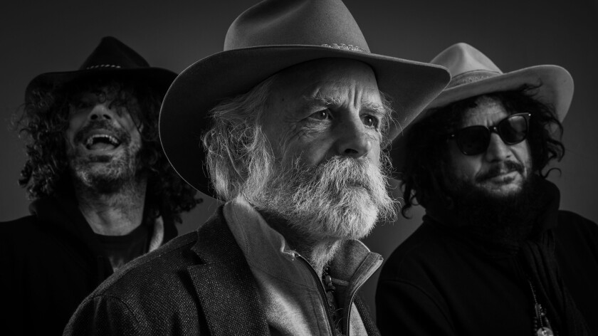 A photo of Bob Weir and Wolf Bros