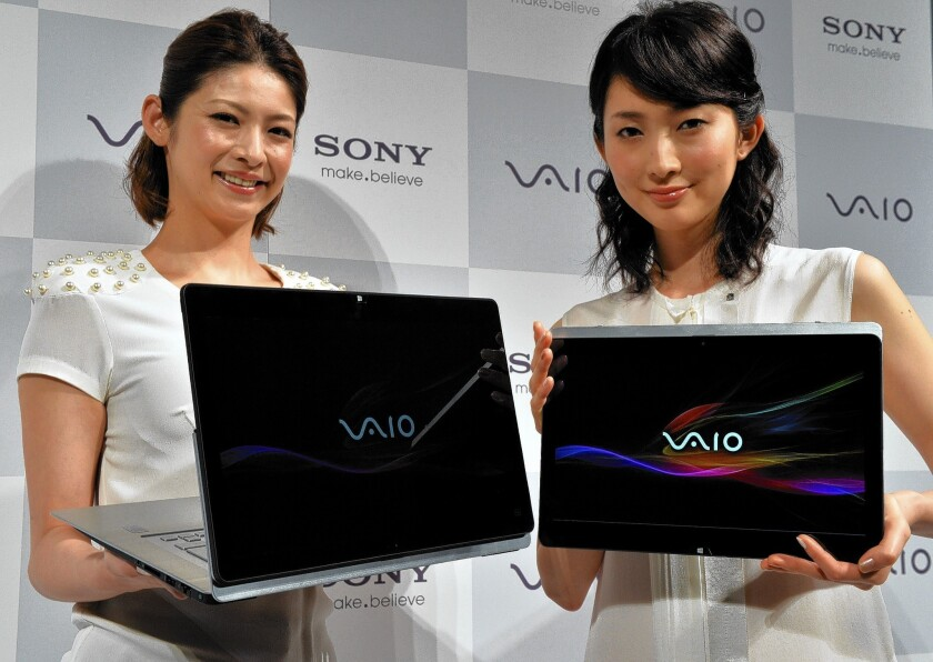 Sony to sell PC division, spin off TV business, lay off thousands
