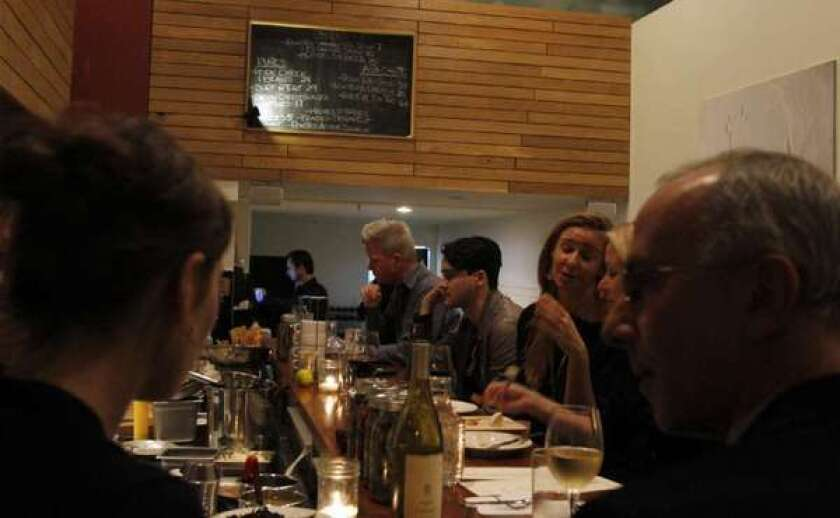 An afternoon wine bar at Salt's Cure