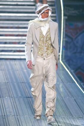 John Galliano: Paris Fashion Week Menswear S/S 2010