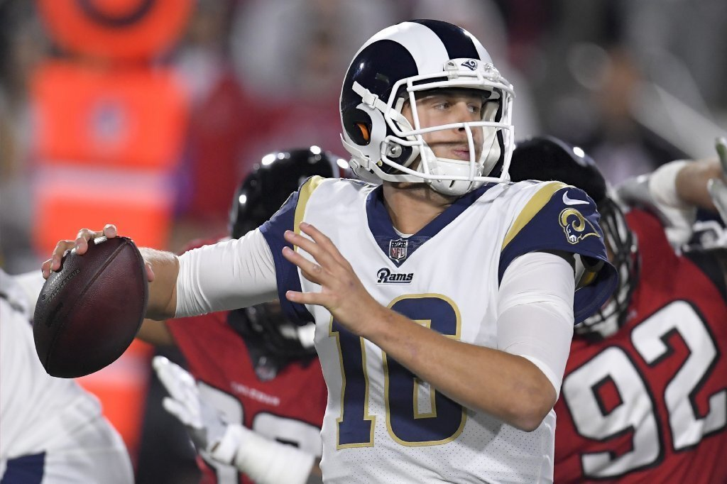 Rams fall to Falcons 26-13 in first playoff game since 2005