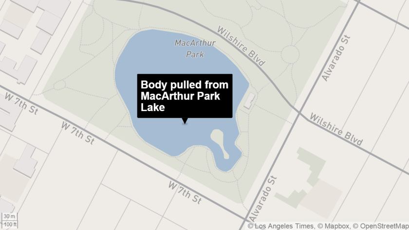 Possible drowning at MacArthur Park
