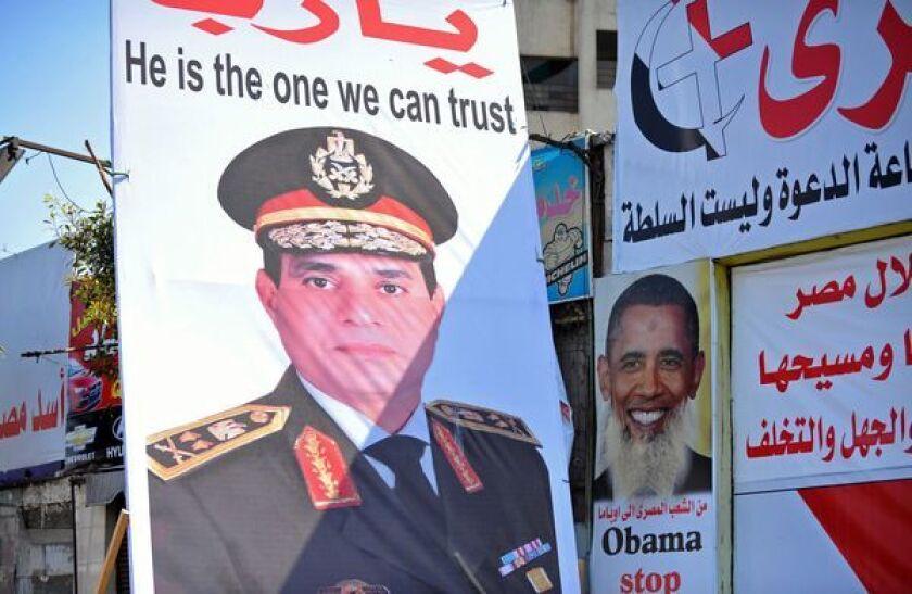 With Egypt's military in control, Gen. Abdel Fattah Sisi shows little patience for U.S. advice despite $1.6 billion in aid.