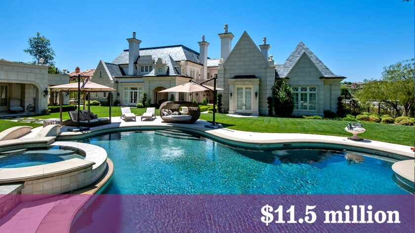 Thomas Tull, the chairman and chief executive of Legendary Pictures, has listed his estate in Calabasas at $11.5 million.