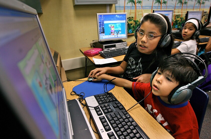 Proposed copyright curriculum is for students in kindergarten through sixth grade and includes lesson plans, videos and activities for teachers and parents to help educate students.