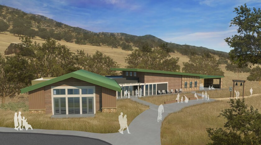 Concept rendering of the Santa Ysabel Nature Center. Credit: County of San Diego