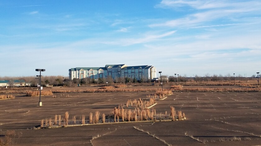 An abandoned Harrah's complex in Tunica, Miss.
