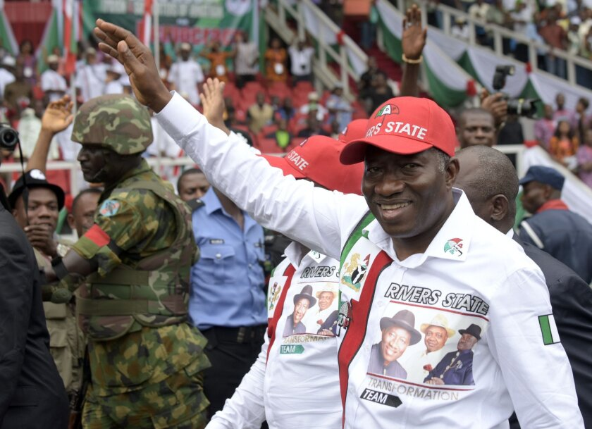 Laundered millions are purportedly helping President Goodluck Jonathan's reelection effort.