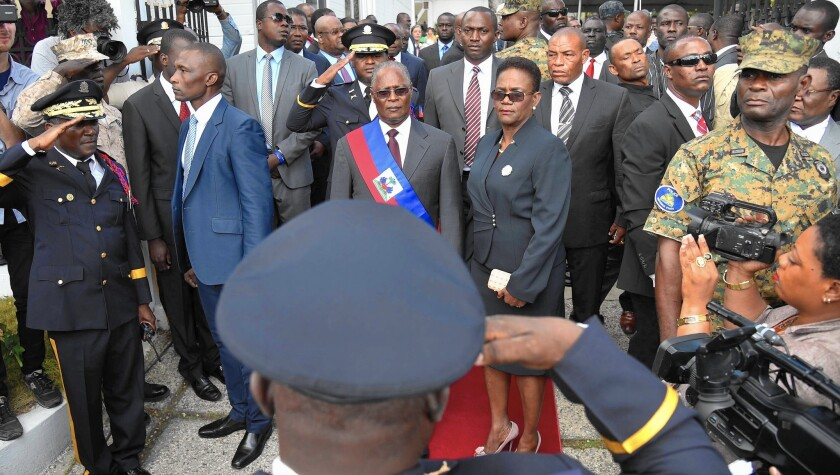 Jocelerme Privert's election as president stalled a deepening political crisis in Haiti — at least for now.