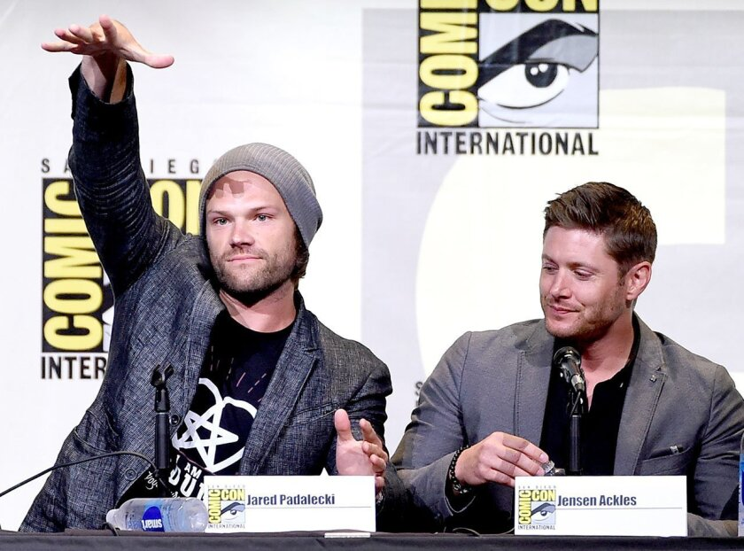 """Supernatural"" panel at Comic-Con 2016"
