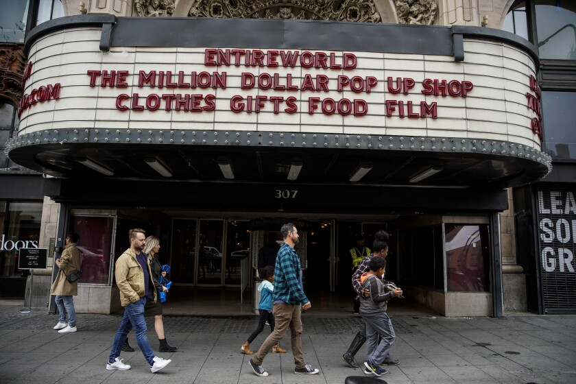 Why fashion groups are starting pop-up film fests. In L.A., it's 'Spaceballs + Matzo Balls'
