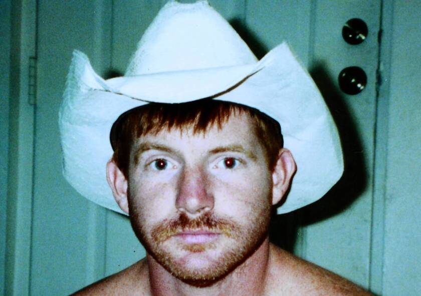 Kelly Thomas is shown in a family photo from 2002. Two former Fullerton police officers are facing trial for allegedly beating the homeless, mentally ill man to death in 2011.