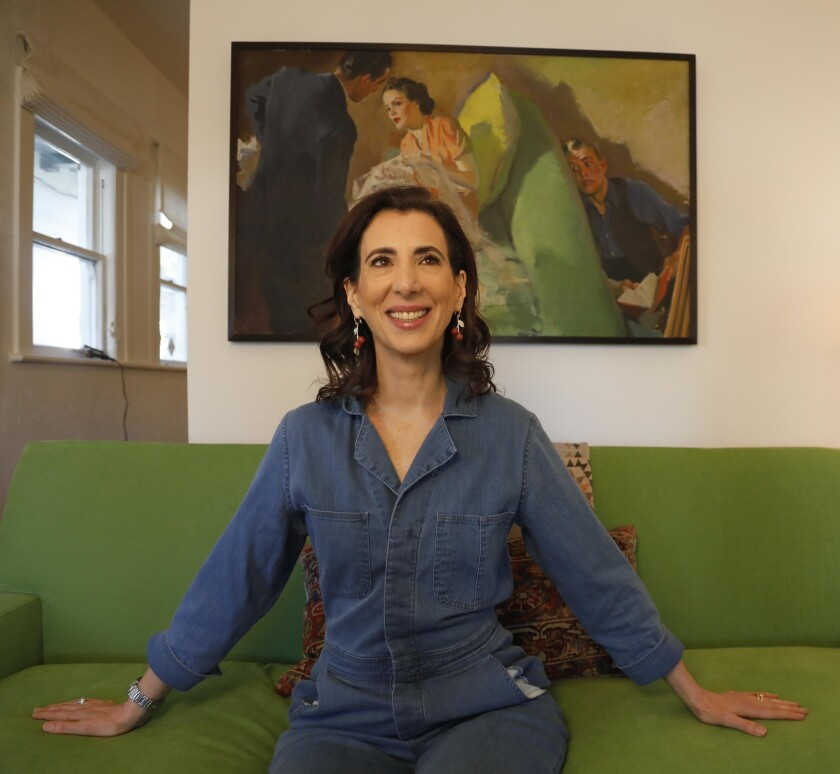 LOS ANGELES, CA - MARCH 12, 2019 — Aline Brosh McKenna, the showrunner of the CW's musical dramedy,