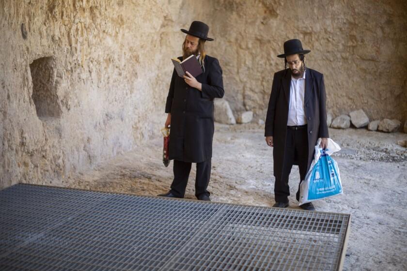 Israel France Jerusalem Tomb