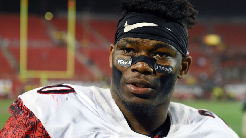 San Diego State running back Rashaad Penny has rushed for 1,000 yards in back-to-back seasons.