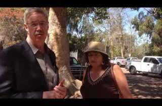 David Rice, Vicki Estrada talk about zoo parking garage