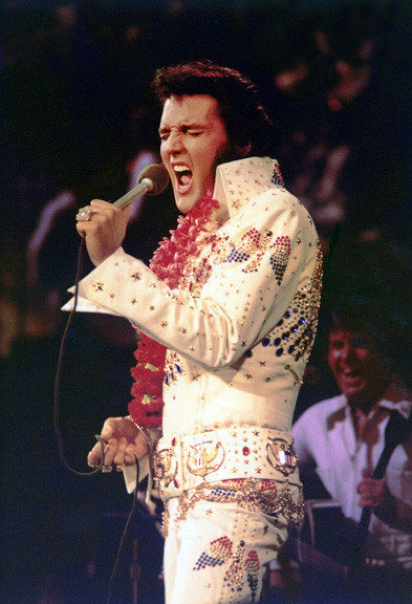 New Graceland exhibits for 2013: Elvis in Las Vegas and in Hawaii