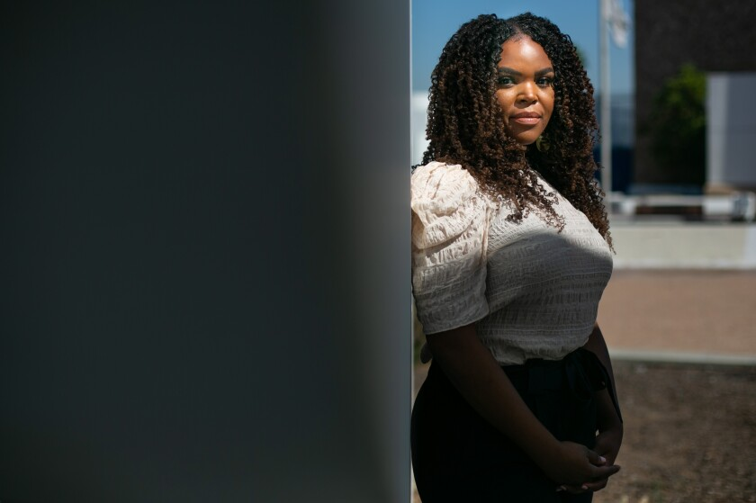 Compton Mayor Aja Brown and others are demanding changes in the way the city is policed.