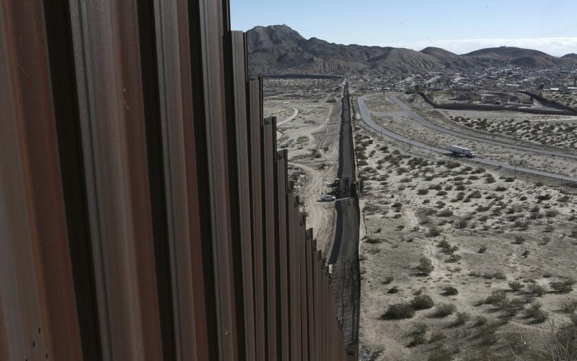 Mexico-U.S. border fence