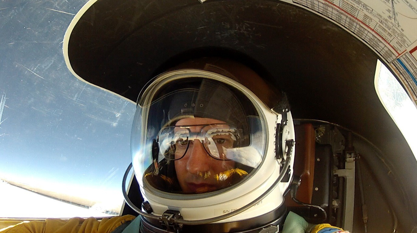 Maj. David Brill pilots a U-2 spy plane -- a single-seater capable of flying to 70,000 feet, or more than 13 miles high -- out of Beale Air Force Base in California.
