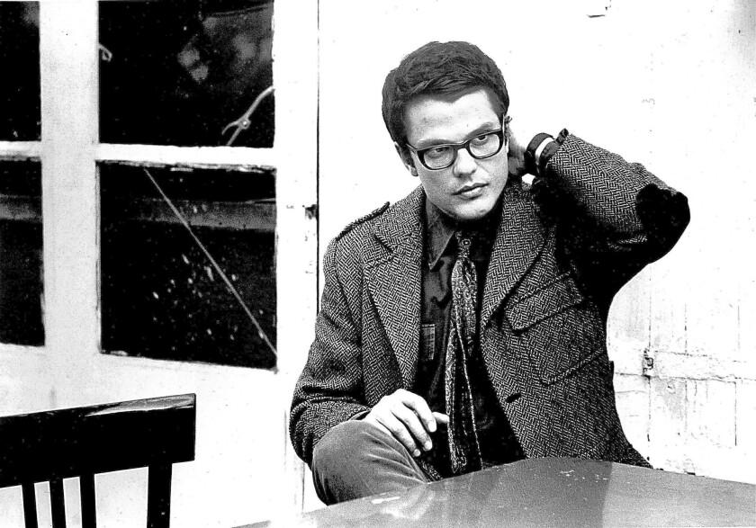 Bassist Charlie Haden circa 1970.