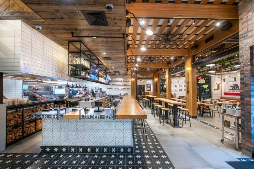 The interior of WR Kitchen & Bar