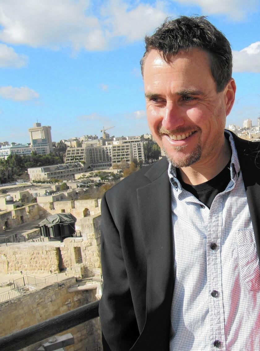 Author Zachary Lazar.